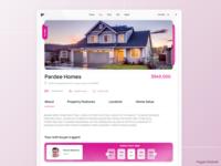 Real Estate Platform design real estate ui webdesign uidesign designwich designchallenge