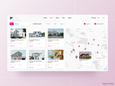 Real Estate Platform uidesign webdesign real estate ui design designwich designchallenge