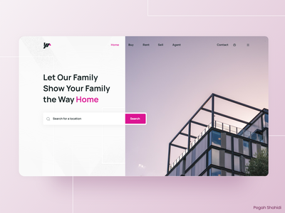 Real Estate Platform webdesign real estate uidesign ui design designwich designchallenge