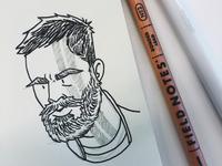 Thor Ragnarok Sketch