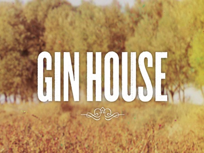 Gin House Packaging cd packaging album cover gin house