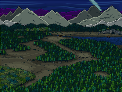 Valley Concept Sketch
