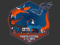 Phoenix Arts Festival Shirt Final 2014