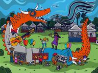 Phoenix Arts Festival Poster 2014