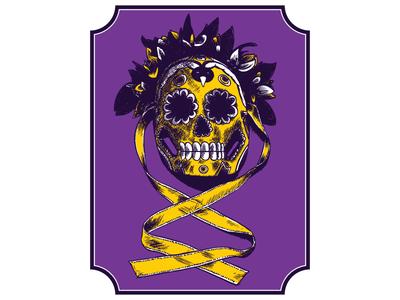 Frida Mask Skull One