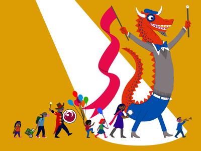 Phoenix Festival of the Arts 2015 Poster
