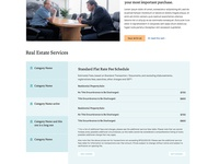 Weeks Law Website - Services Page