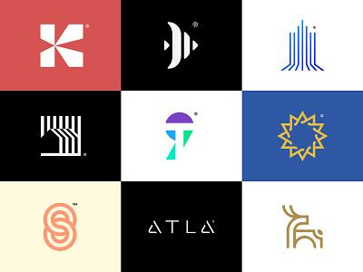 2020 Logofolio (1/6) identity design icon symbol icon symbol simple logo abstract logo minimal logo graphic design 2021 trend 2020 trends abstract modern logo modern design simple modern branding and identity identity logo design logo branding