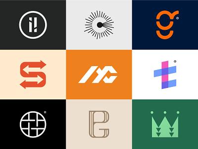 2020 Logofolio (6/6) flat modernism abstract simple logofolio behance dribbble portfolio trend identity design logo designer design modern logo modern design modern branding and identity identity logo design logo branding