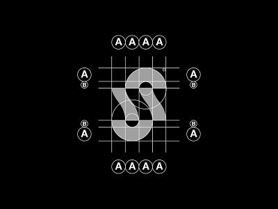 Letter S Grid symbol graphic design abstract minimal letter s lettermark letter modernism clean modern logo identity design modern design modern branding and identity identity logo design logo branding logo grid grid