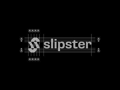 Slipster© Grid simple abstract modernism grid logo grid minimal modern logo modern design modern branding and identity identity logo design branding logo mark logo lettermark icon symbol logotype wordmark