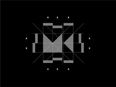 M + K + Camera Grid modernism minimalism flat luxury minimal clean logo grid grid abstract simple logo logo designer design modern logo modern design modern branding and identity logo identity logo design branding
