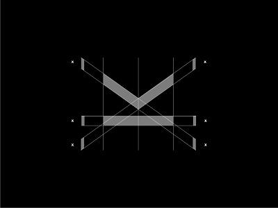 MK Monogram Grid blackandwhite minimalist minimal grid design grid modernism elegant symbol simple sketch logo designer design modern logo modern design modern branding and identity identity logo logo design branding