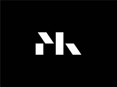 MK Monogram bold logo minimal modernism abstract logo abstract letter k letter m lettermark symbol simple logo designer design modern logo modern design modern branding and identity identity logo design logo branding