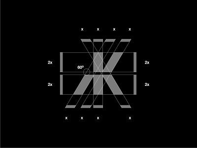 MK Monogram Grid black and white lettermark logo lettermark logodesign designer graphic design grid layout grid logo grids grid logo designer design modern logo modern design modern branding and identity identity logo design logo branding