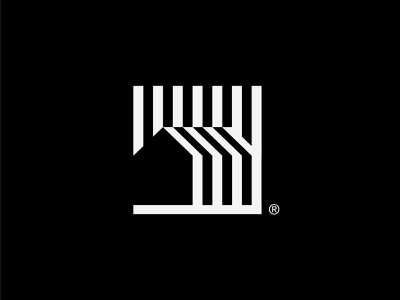 Line Study experiment exercise study real estate logo real estate house logo home house simple abstract minimal architecture design architecture modern logo modern branding and identity branding identity logo design logo