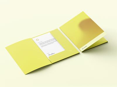 Astella Folder behance orange simple minimal gradient graphic design design modern logo branding and identity modern logo design identity logo branding visual identity print design print folder folder mockup mockup