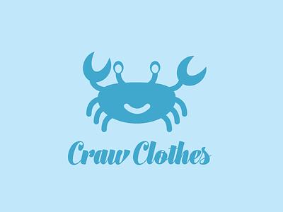 070817 Craw Clothes babyclothing logo dailylogochallenge
