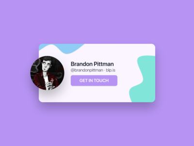 SN Contact Card
