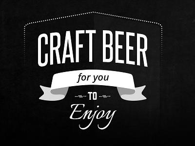 Craft Beer Word Art type vintage word art typography vector illustrator