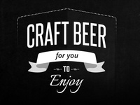 Craft Beer Word Art