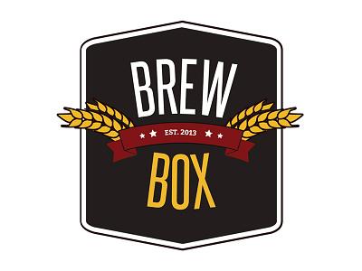 Brew Box Logo 2 vector branding logo beer brew illustrator