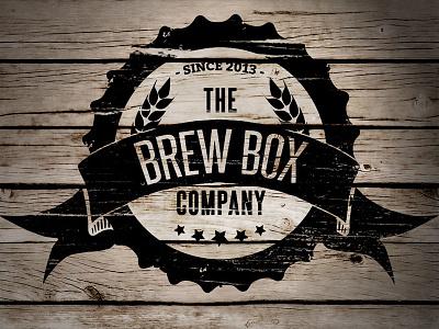 Final Brew Box Logo logo vector design beer branding brand vintage sign