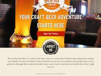 Brewbox Landing Page