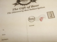 Brew Box Gift Receipt