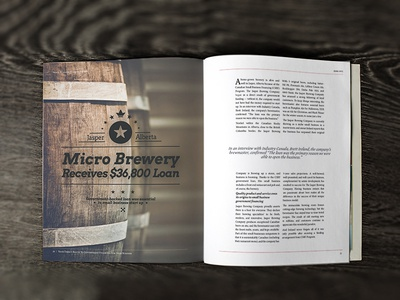 Brewery Article Spread