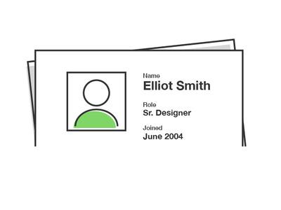 Resume illustration illustrator