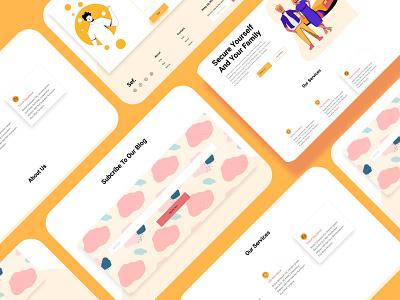 insurance website web design uxdesign uidesign website design webdesign