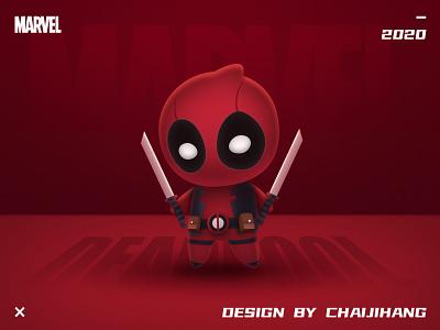 MARVEL-Deadpool design illustration