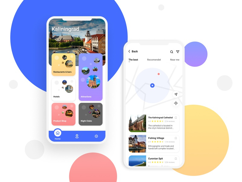 Travel Assistant figma app design app ui ux