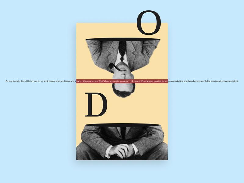 D. Ogilvy web design branding