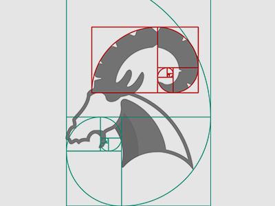 Izirtu Logotype fibonacci logo izirtu head goats، ram boukan
