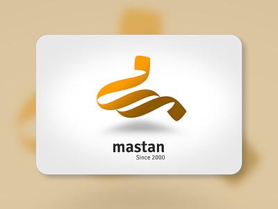 Mastan - Calligraphy Logo headui mastan gold kurdish logo arabic logo logo calligraphy