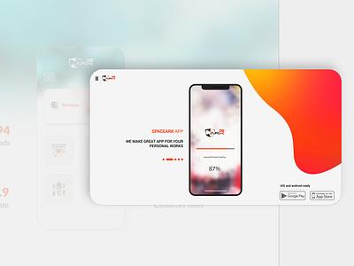 App page design mobile app headui loading page app design