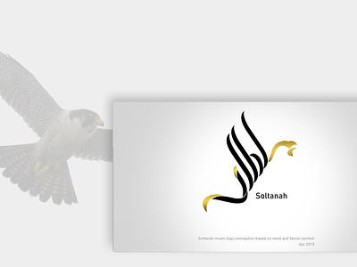 Calligraphy logo soltana falcon logo eagle logo logo headui arabic logo logotype calligraphy