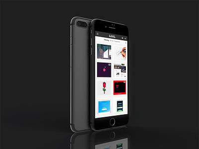 Working on some 3D mockups premium mockups dribbble presentation showcase app iphone 7 iphone mockup wip