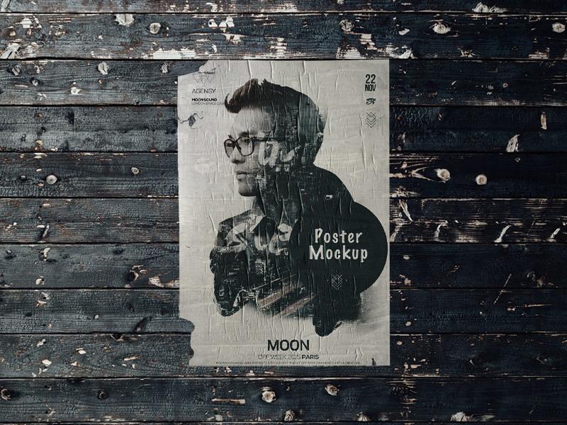 Poster Mockup premium mockups mock up poster mockup grunge paper poster mockup