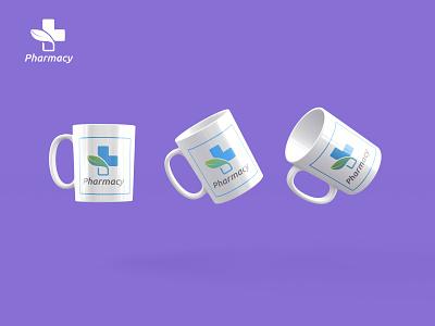 Pharmacy  Mug Design animation web typography logo icon illustration branding app design