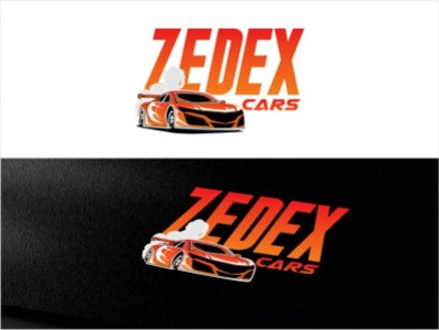 zedex cars club logo logotype animation icon illustration logo typography design branding app design ux ui