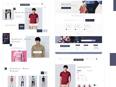 Blue Buddha  Redesign concept website design logotype minimal icon animation vector illustration logo ui typography design branding app design