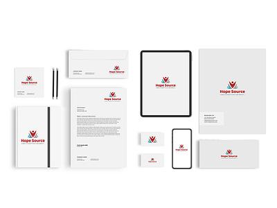 hope Source Branding brand identity brand minimal icon animation vector logo illustration ui ux typography branding app design