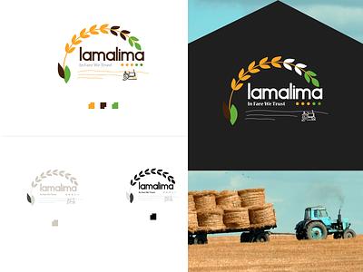 Organic Brand Logo organic logo minimal web icon animation app vector logo illustration design typography app design