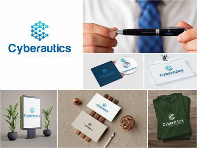 Cberautics Branding animation app vector logo illustration ux design branding typography app design