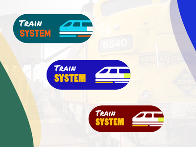 Train system logo design concept logo designer logo design minimal icon app animation ui ux illustration branding typography app design vector logo