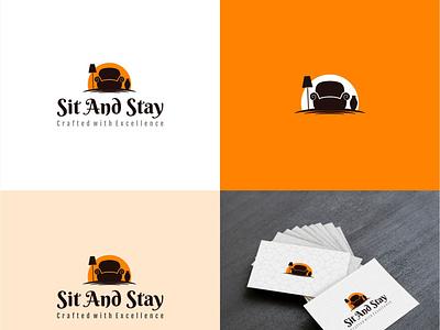 Home Decor Logo Design logotype minimal icon animation vector logo illustration design branding typography app design