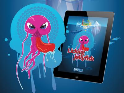 Character Design - Licking Jellyfish